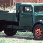 After a modest start in the 1920s, by the mid 30s, Volvo had become the dominant truck manufacturer in the Nordic countries.